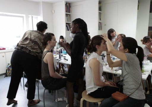 Make up and Hairstyling by Fleurimon student - Partenership with Françoise Comte